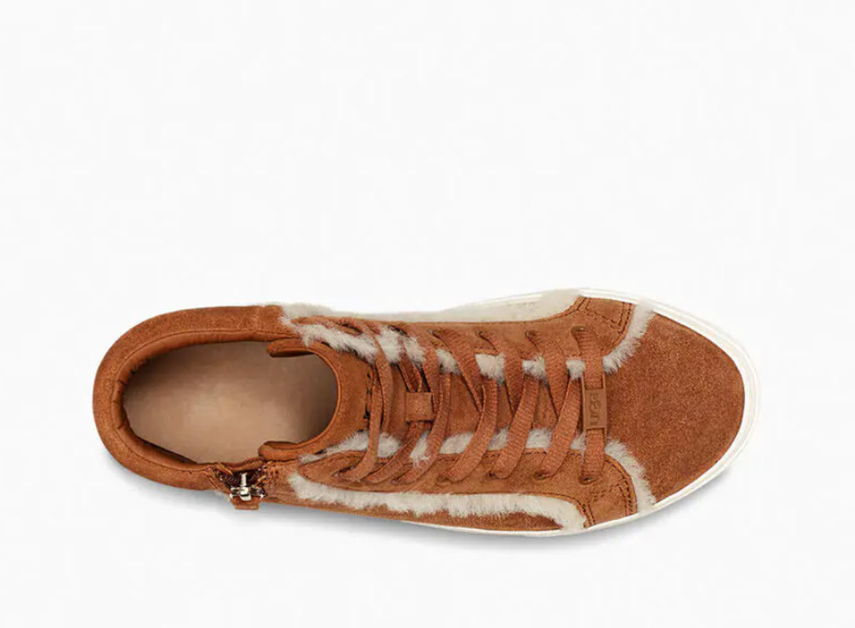 Ollie - The Heritage Ugg Sneaker in Chestnut