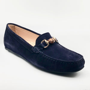 Bamboo - The Bamboo Bit Loafer in Navy