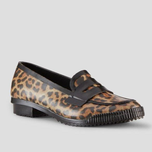 The Rain Penny-Loafer in Leopard