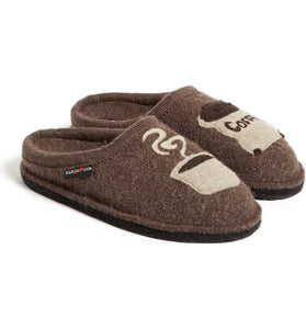 The Wool Coffee Slipper in Earth