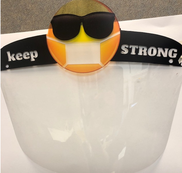 The Face Shield for Kids with Emoji
