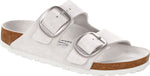 Load image into Gallery viewer, Arizona Big Buckle - The Premier Birkenstock 2 Band Sandal in White