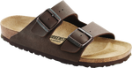 Load image into Gallery viewer, Arizona - The  Birkenstock Signature Double Band Sandal in Mocha