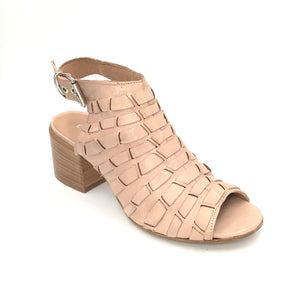 The Woven Lace Transitional Sandal in Sand