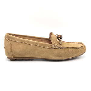 Bamboo - The Bamboo Bit Loafer in Cappucino