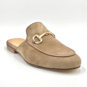 Bitmule - The Loafer Mule with Bit in Stone