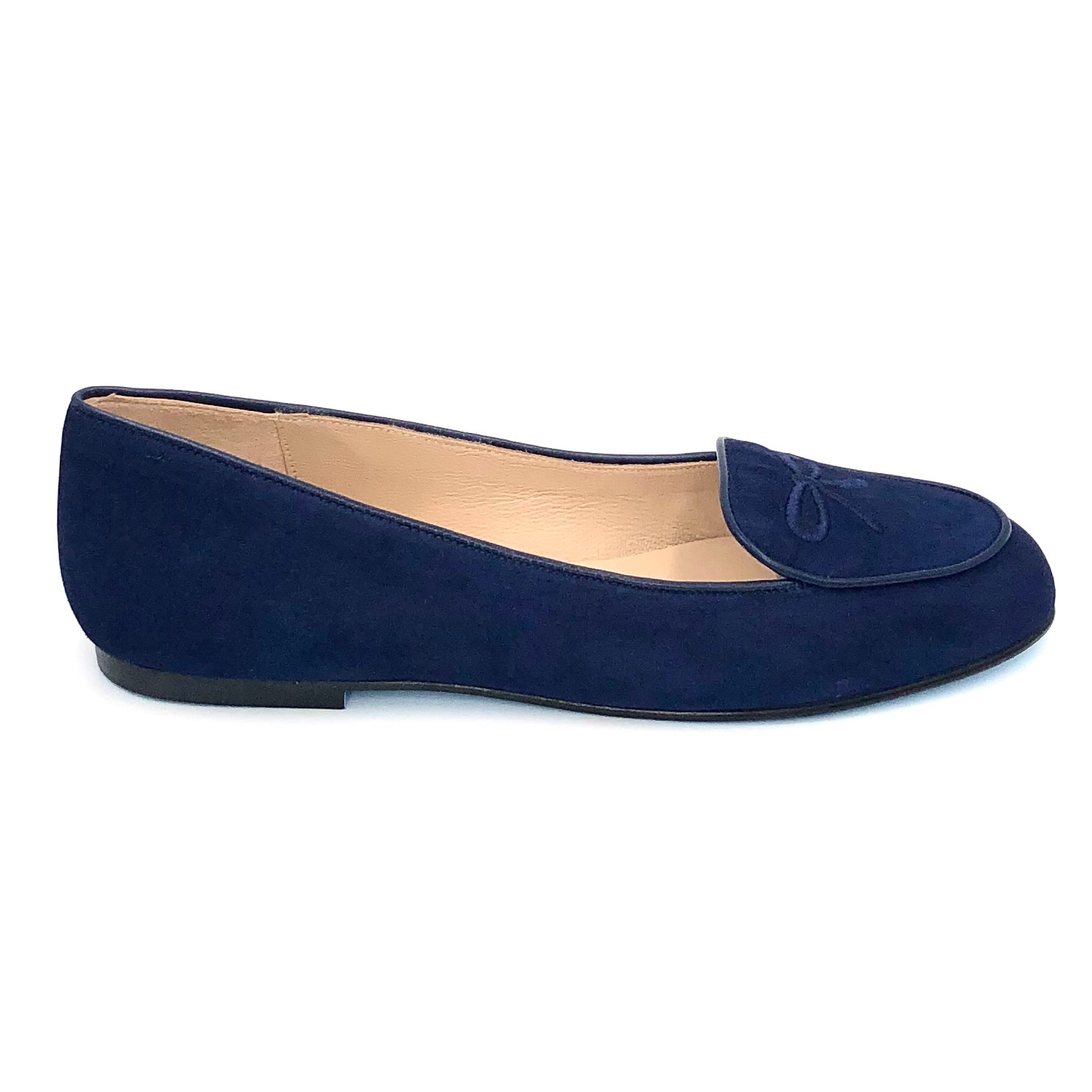 The Belgium Loafer in Navy