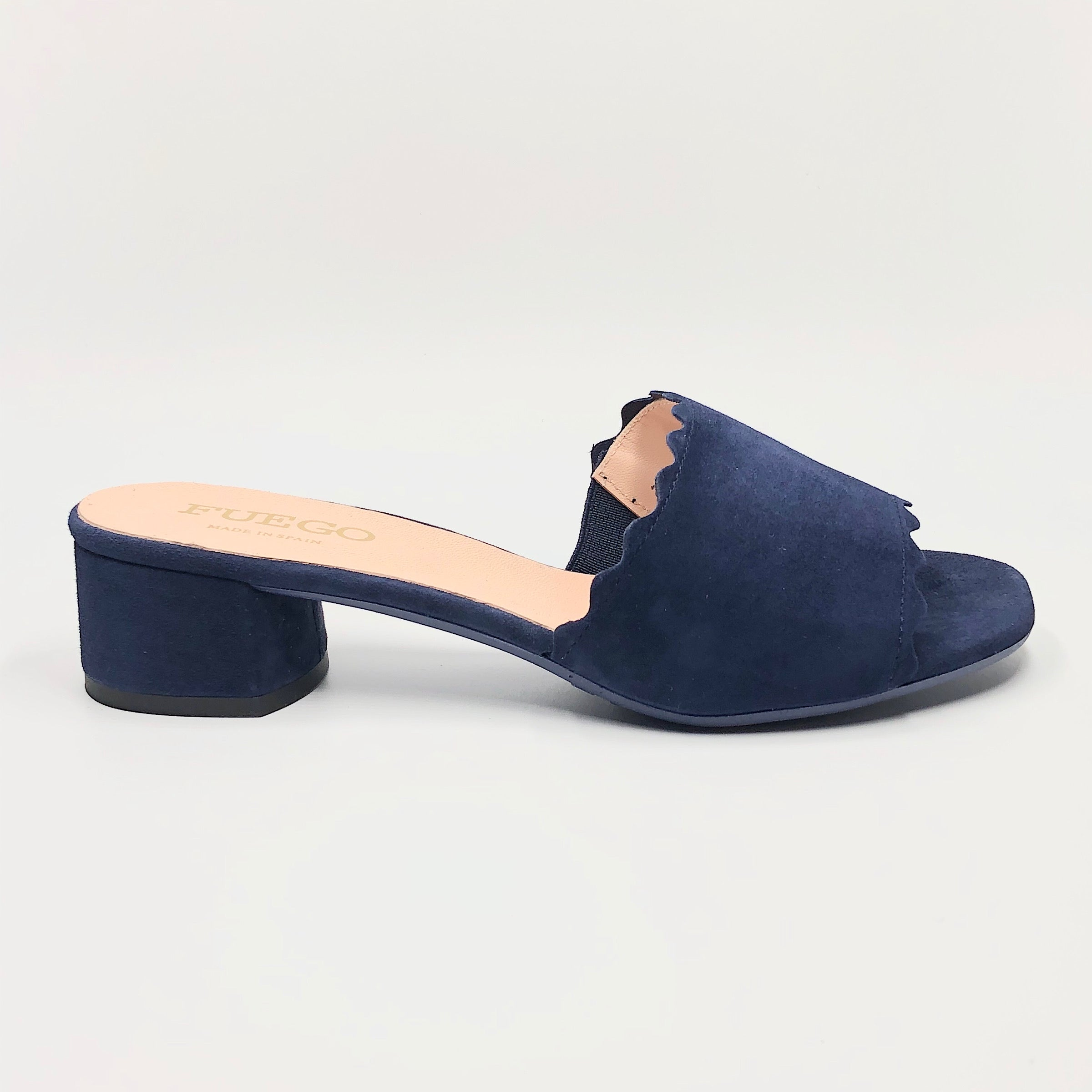 Ricrac - The Simple Slide in Navy