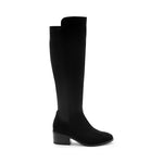 Load image into Gallery viewer, The Waterproof Tall Boot with Stretch Back in Black