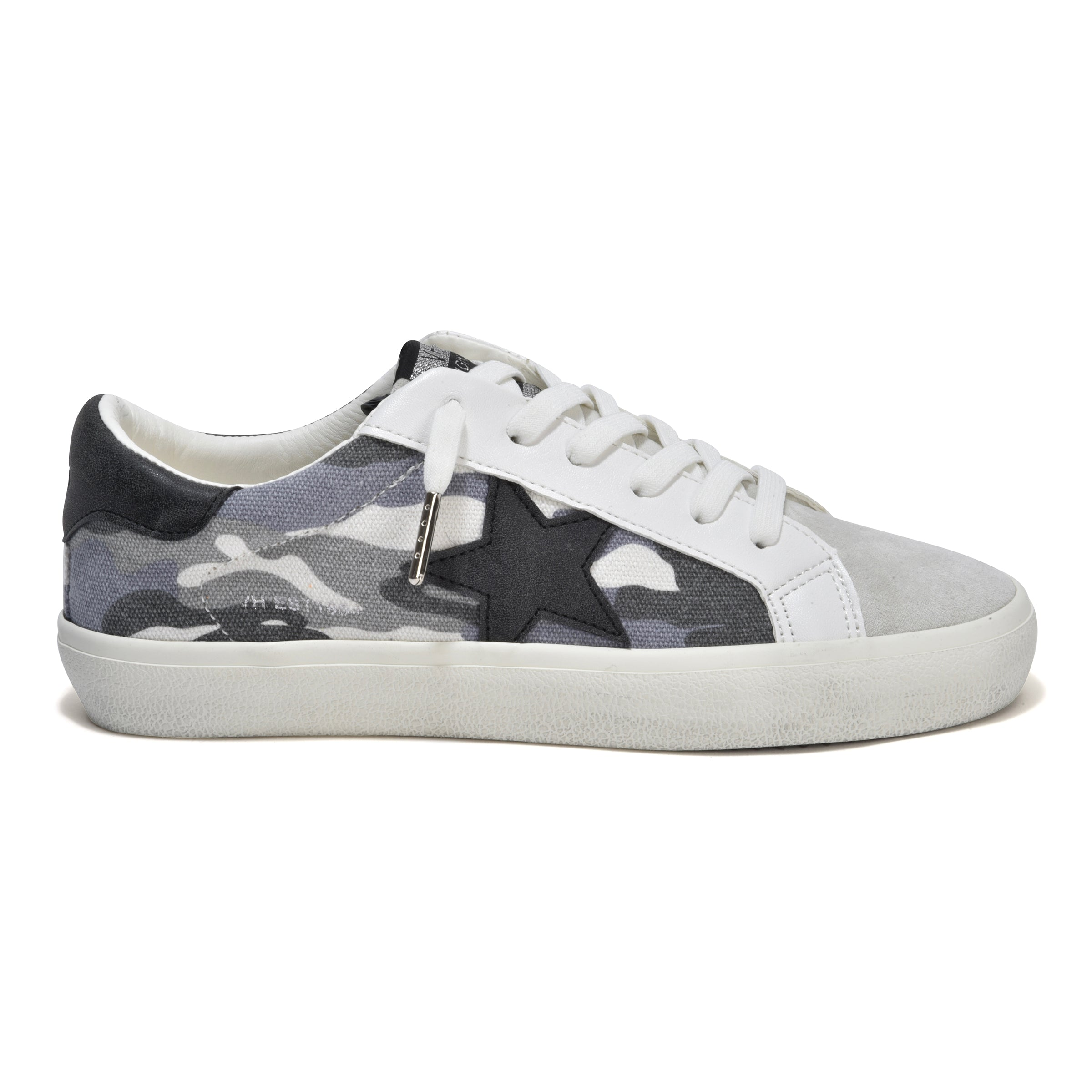 The Camo Lace Sneaker in Grey