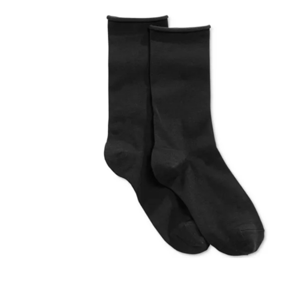 The Jean Sock in Black