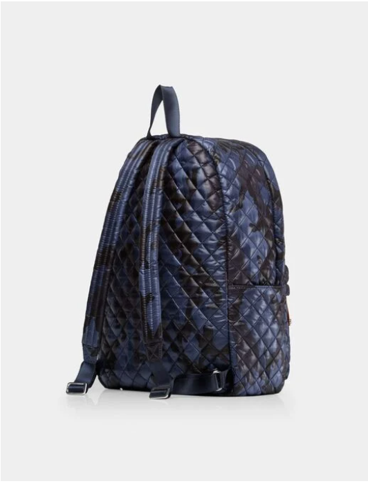 The City Backpack - Blue Camo