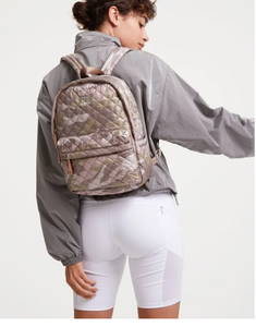 The City Backpack - Blush Camo