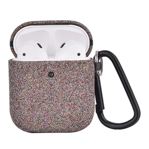 Phunkee Tree AIRPODCASE - The Glitter Airpod Case Cockle in Speckle. This airpod case in glitter with hook attachment is a must have.