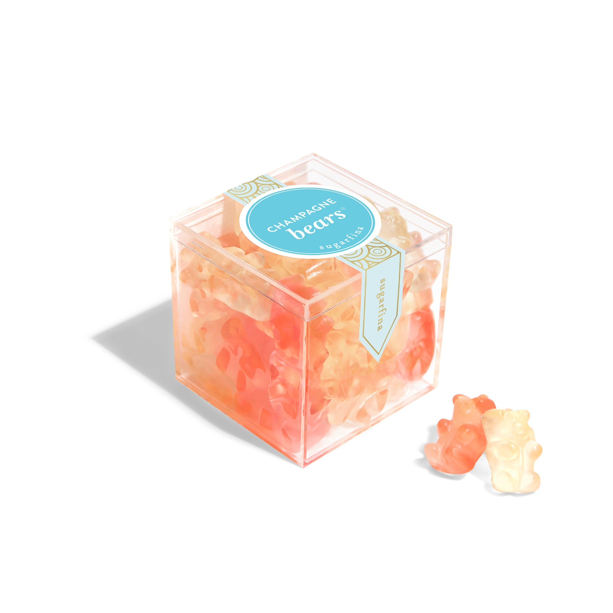 The Candy Cube of Champagne Bears