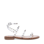 Load image into Gallery viewer, The Studded Gladiator Sandal in Clear