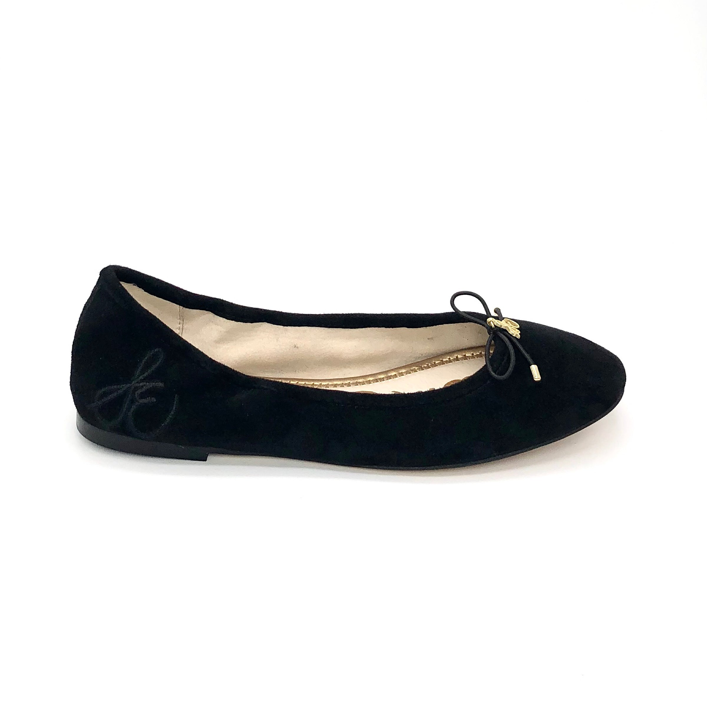 The Classic Ballet in Black Suede