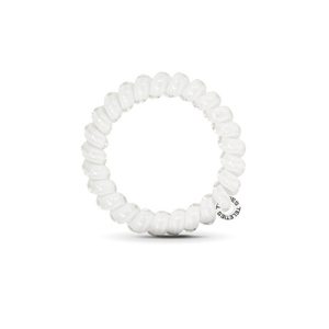 The Coil Hair Band in Coconut White