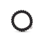 Load image into Gallery viewer, The Coil Hair Band in Jet Black
