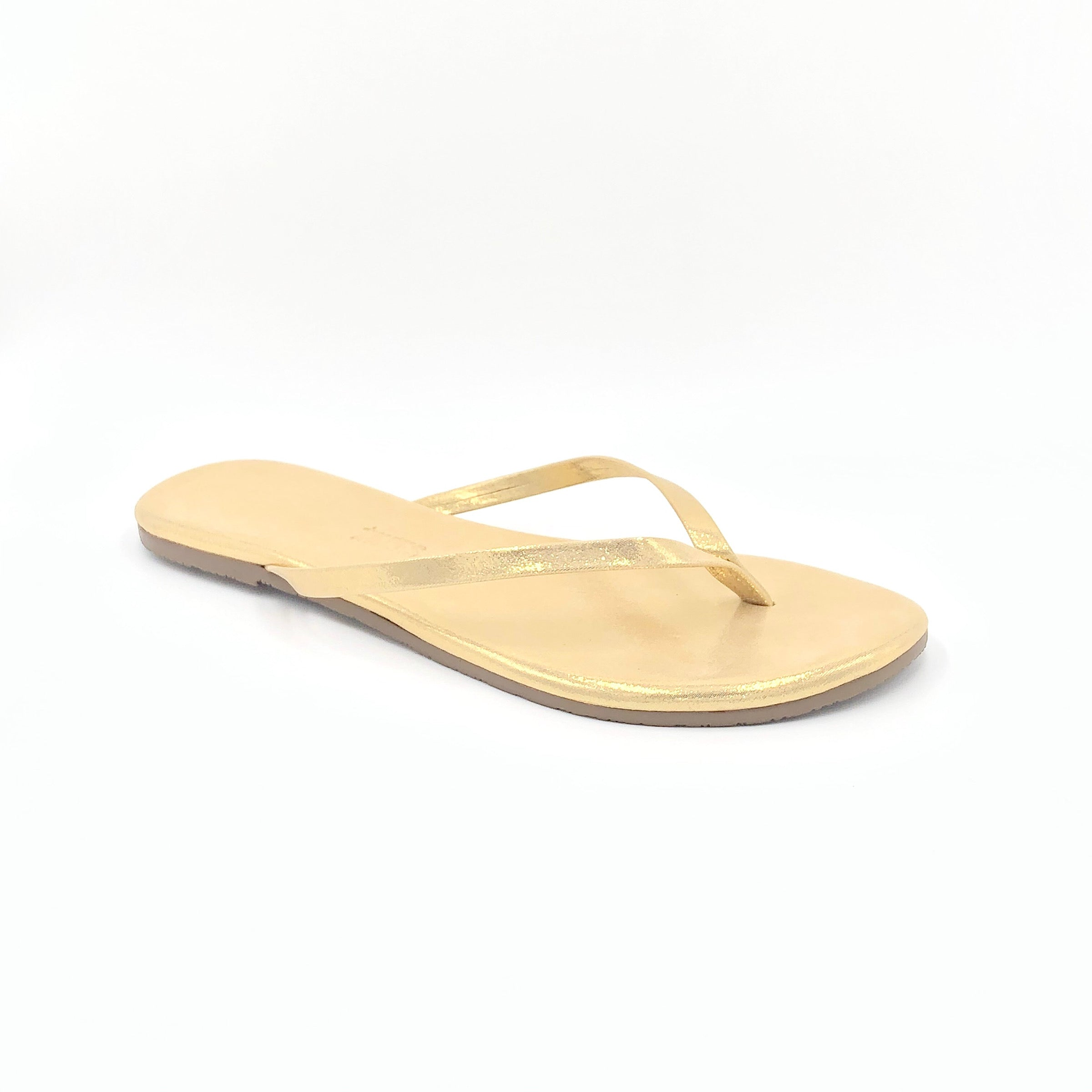 Glitters - The Flip Flop With A Hint of Shine in Sandbeam