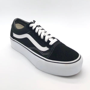 Old Skool Platform - The Vans Platform Lace Sneaker in Black