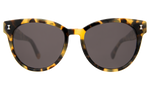 Load image into Gallery viewer, York - Sunglasses in Tortoise by Illesteva. The York is an acetate frame with a slight hint of cat-eye that embodies the idea of bridging the classic style with a modern twist. Easy and elegant, perfect for everyday use. Complimentary case. Handmade in Italy