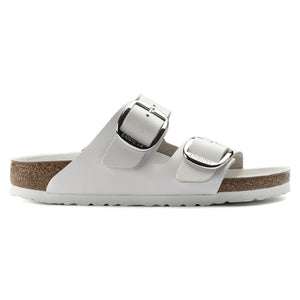 Arizona Big Buckle - The Premier Birkenstock 2 Band Sandal in White
