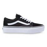 Load image into Gallery viewer, Old Skool Platform - The Vans Platform Lace Sneaker in Black
