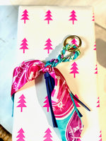 Load image into Gallery viewer, The Tassle Scarf Charm in Navy