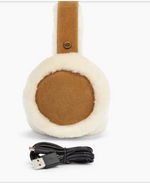 Load image into Gallery viewer, The Sheepskin Bluetooth Earmuff in Chestnut