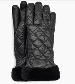Load image into Gallery viewer, The Quilted All Weather Glove in Black