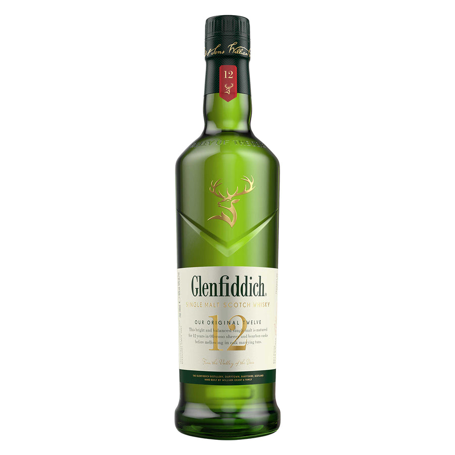 Glenfiddich 12 Year Old Single Malt Whisky