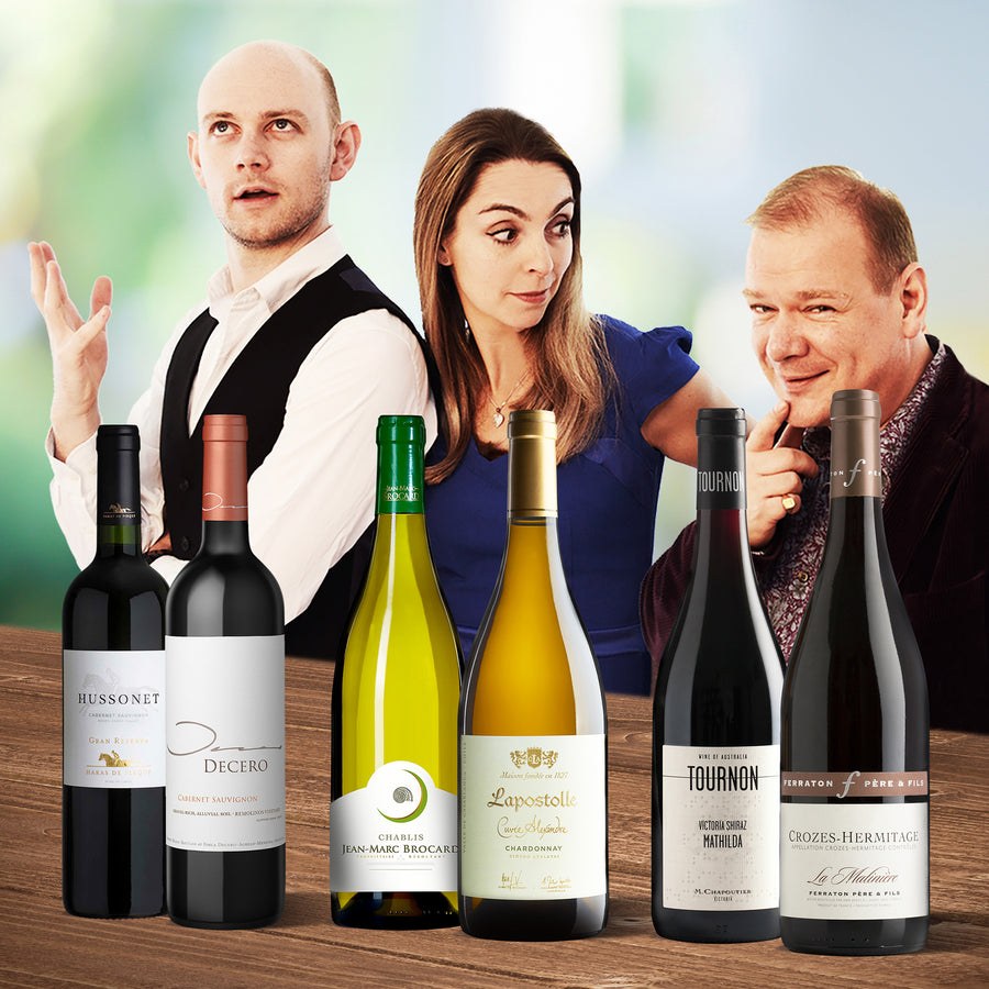 The Three Drinkers Recommend... – A mixed case of 6 bottles
