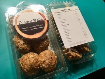Dark Chocolate Orange Power Balls