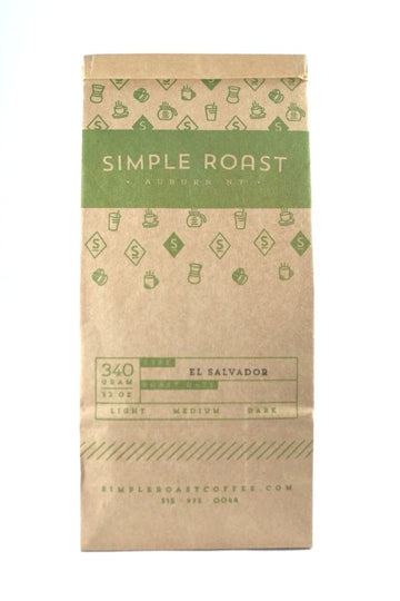 El Salvador Fair Trade/Organic/Rain Forest Certified - Medium Roast