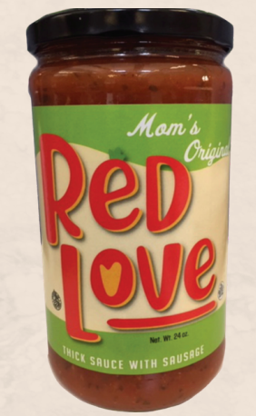 Mom's Original Pasta Sauce from Red Love