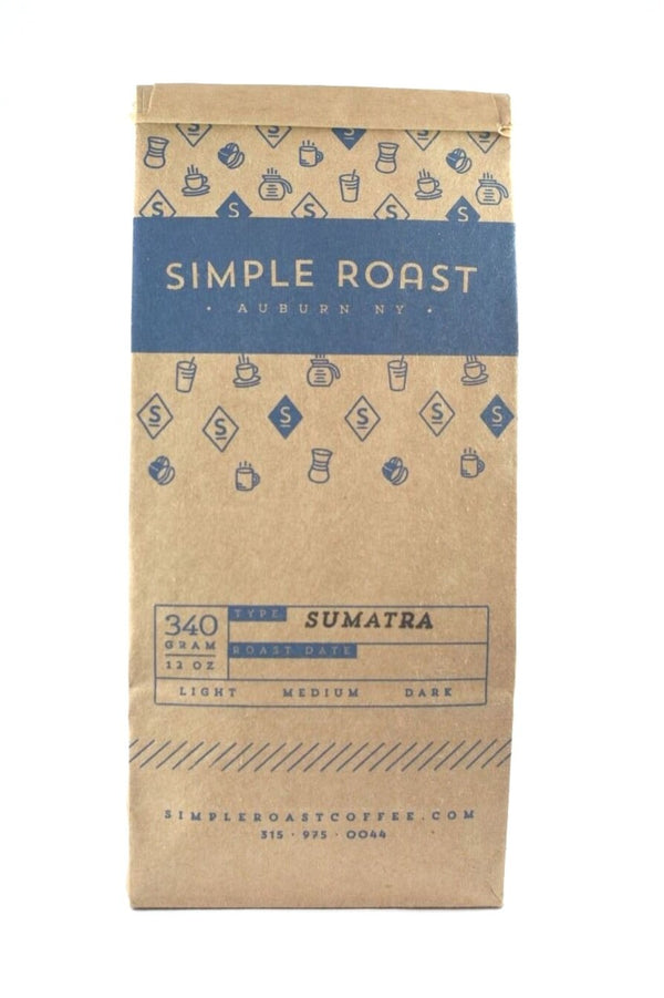 Sumatra Aceh Ketiara Fair Trade/Organic - Dark Roast