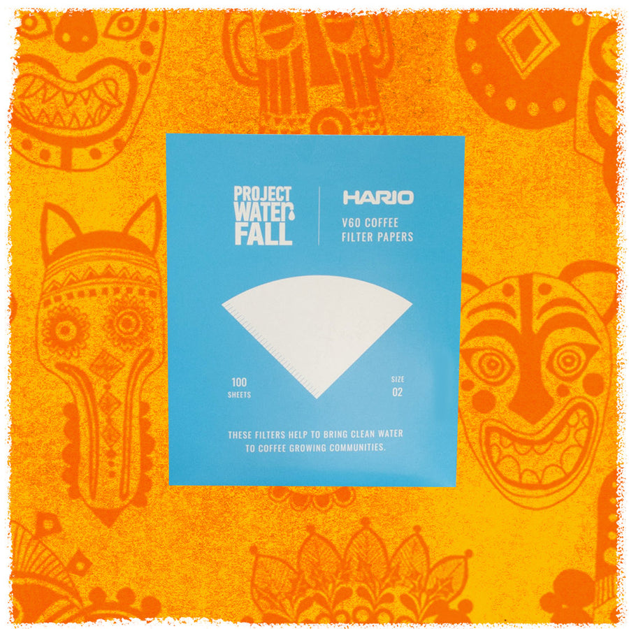 Get your brew on - Hario Project Waterfall V60 Filter Papers (100 pack)
