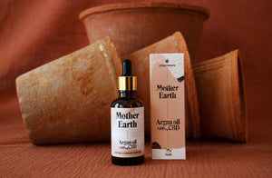 """Mother Earth"" Argan Oil & CBD"