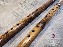 Load image into Gallery viewer, Bamboo Spot Vertical Bamboo Flute™ 竹斑洞箫