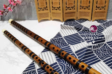 Load image into Gallery viewer, Black Line Bamboo Flute™ 黑纹型笛子