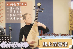 Online Pipa Lesson 线上琵琶课