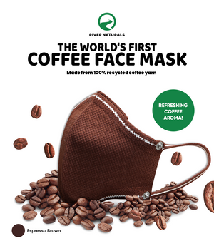 The World's First Face Mask Made From Coffee