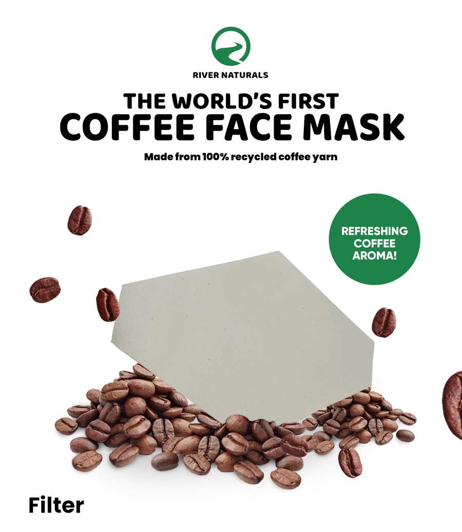 The World's First Face Mask Made From Coffee (FILTER ONLY)