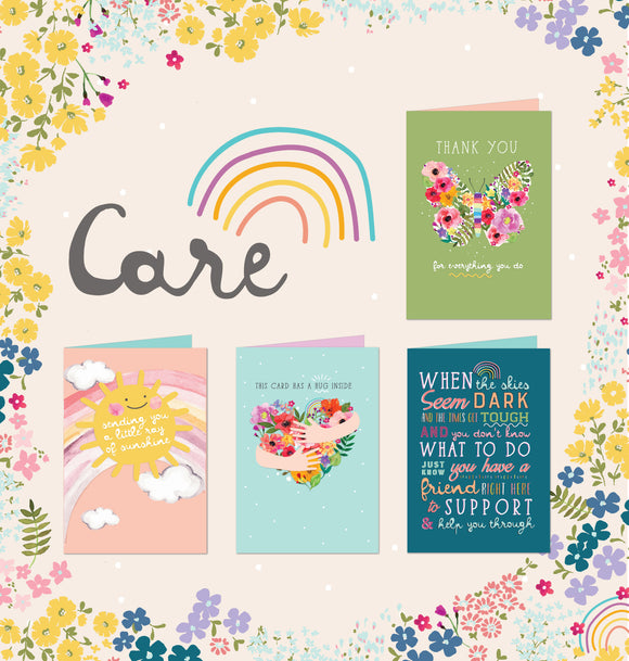 Shop Henderson Greetings Care range of greeting cards. Developed in support of our charity partner R U OK? and to help people share messages of hope, love and kindness in challenging times. All proudly designed and printed in Australia.