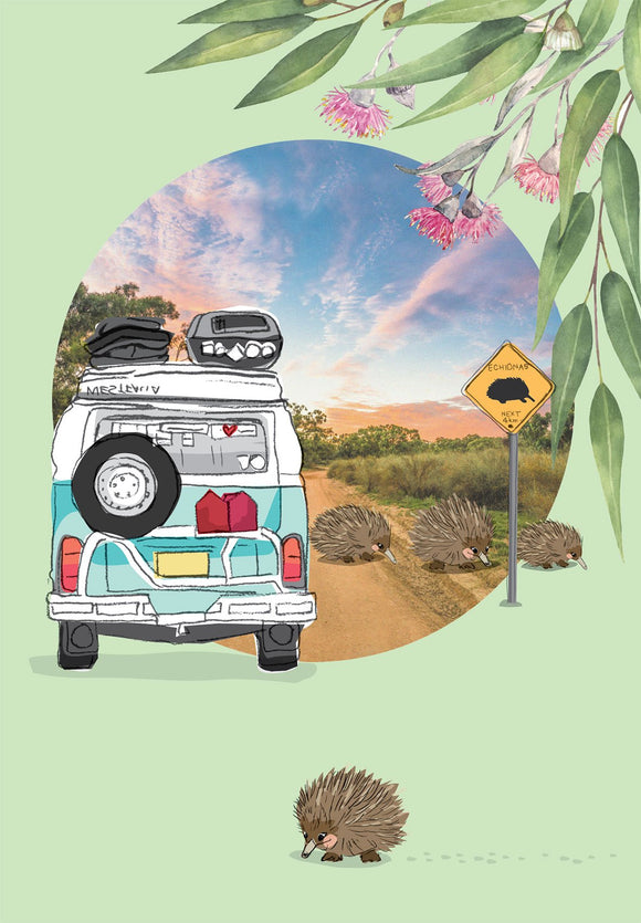 Greeting Card - Our Aussie Way, 'Ultimate Aussie Road Trip'