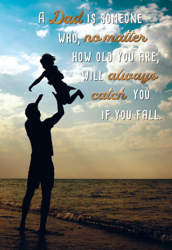Father's Day Greeting Card - Father's Arms