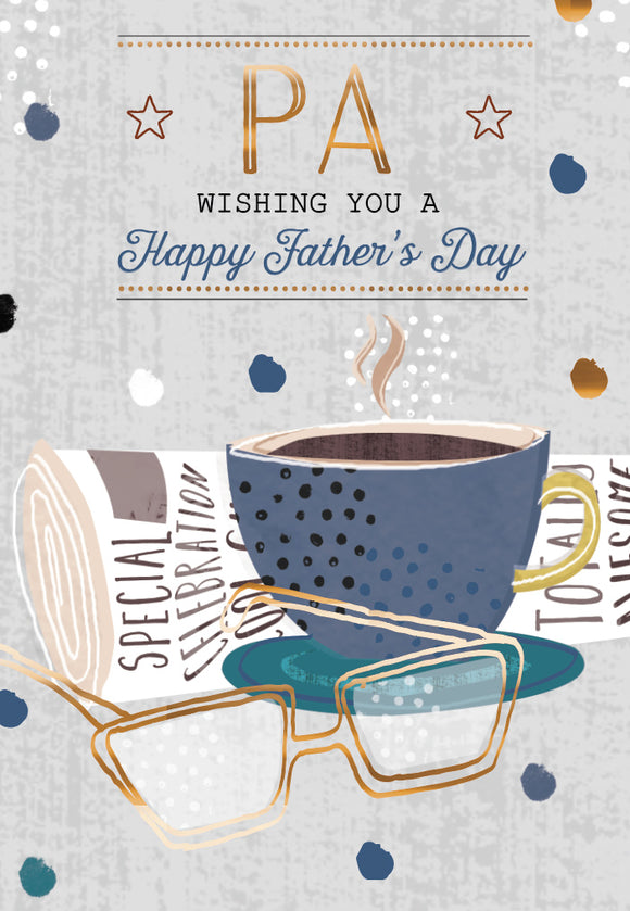 Father's Day Greeting Card - Cup of Coffee