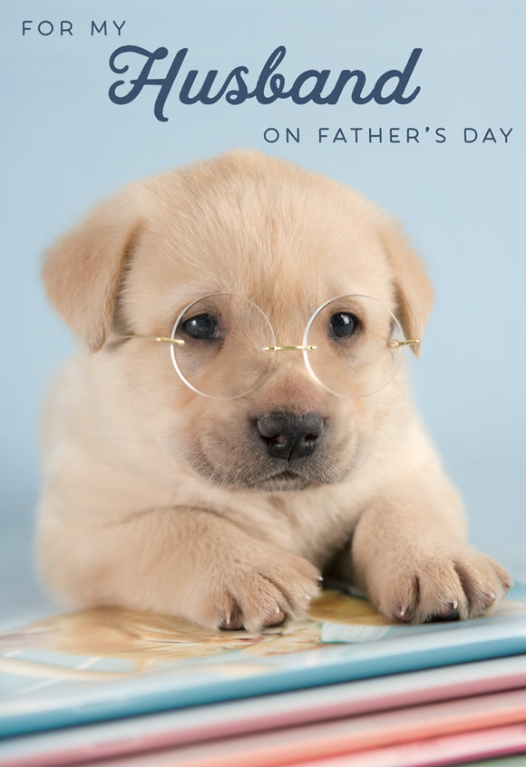 Father's Day Greeting Card - Handsome & Intelligent