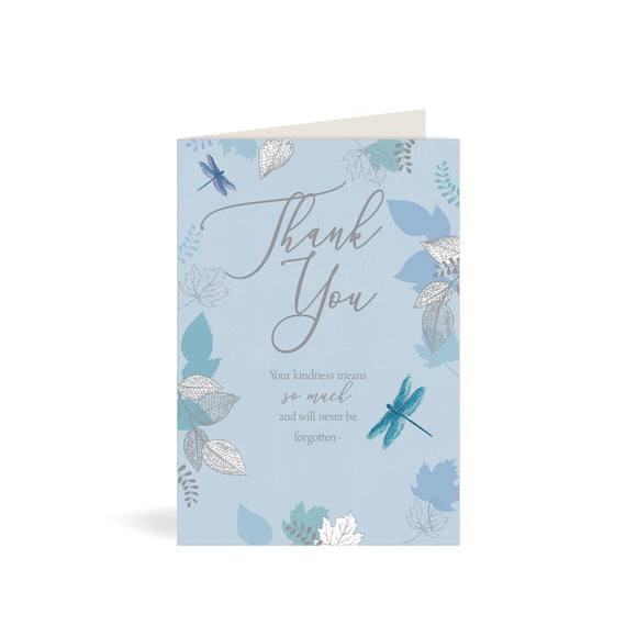 Greeting Card - Thank You - Dragonfly